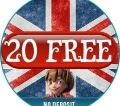 20 Free No Deposit Casino Bonus